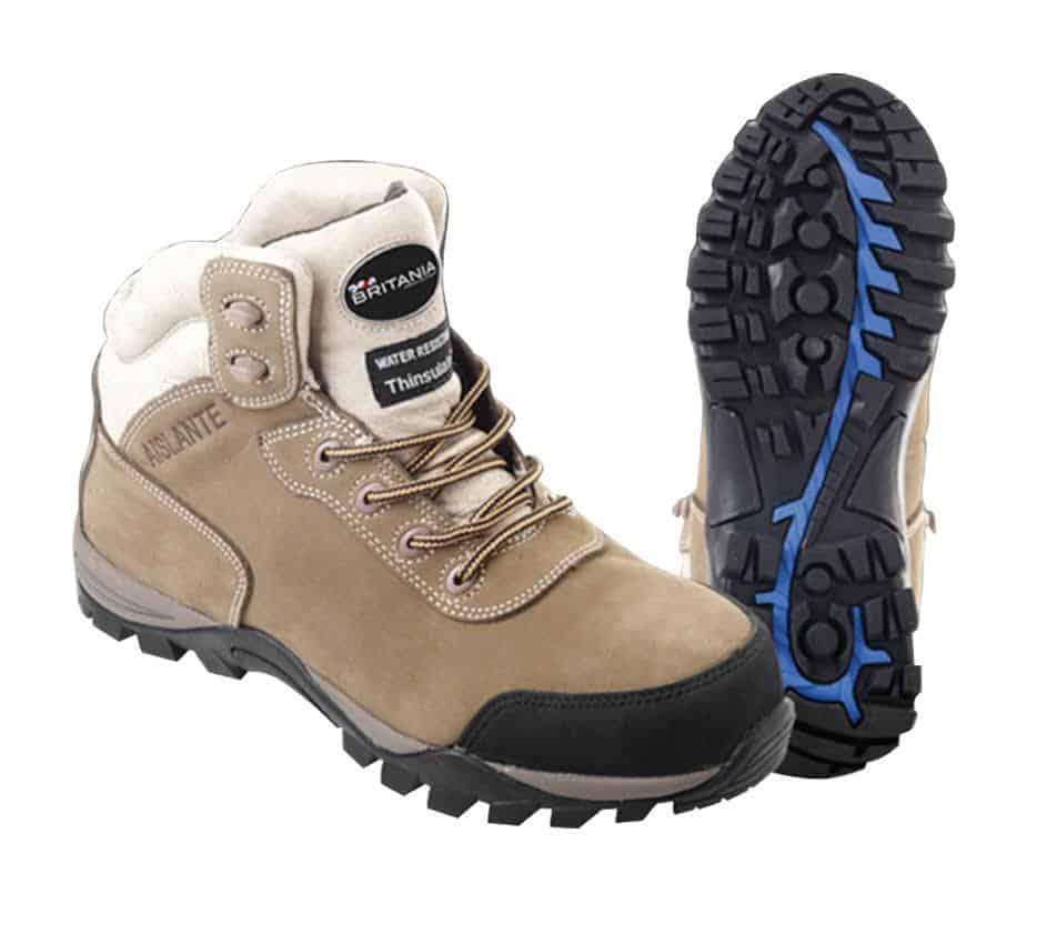 Zapatos de seguridad con aislantes