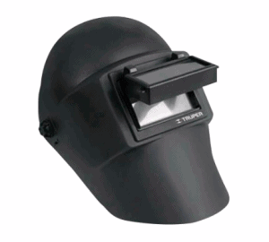 Uso de cascos para soldar