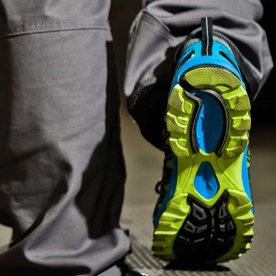Conservar las suelas de los zapatos de seguridad