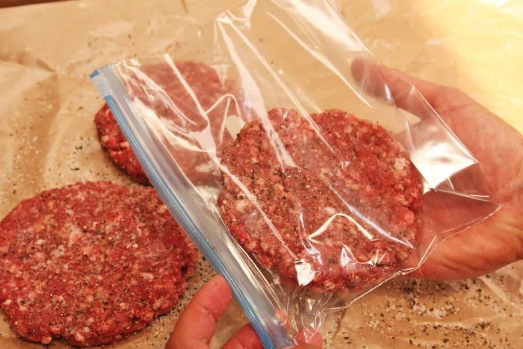 Carne para congelar