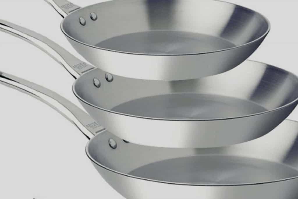 Características de las sartenes de aluminio